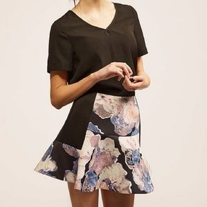 FINDERS KEEPERS Floral Skirt Fit Flare
